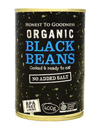 Picture of Organic Black Beans Canned 400g