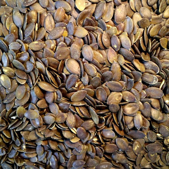 Picture of Organic Black Pumpkin Seeds (Pepitas)