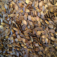 Picture of Organic Black Pumpkin Seeds (Pepitas) 1kg