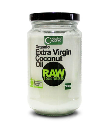 Picture of Organic Cold Pressed Extra Virgin Coconut Oil 900g
