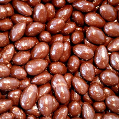 Picture of Organic Dark Chocolate Almonds