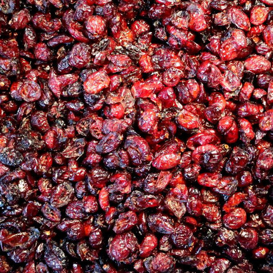 Picture of Organic Dried Cranberries (Apple Juice Sweetened)