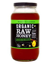 Picture of Organic Raw Honey 500g