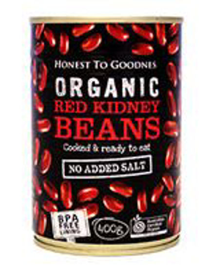 Picture of Organic Red Kidney Beans Canned 400g